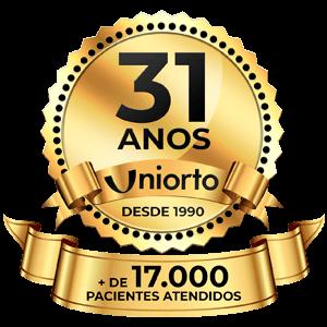 Uniorto - 31 Anos, Desde 1990 - + de 17.000 Pacientes Atendidos